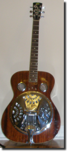 Dobro guitar. Regal RD40