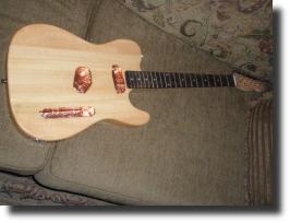 shielded guitar body