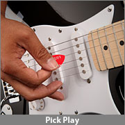 DIY Pick Playing
