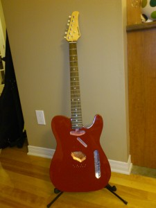 """Blood Red"" Telecaster"