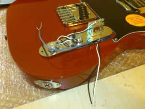 Assembling the telecaster