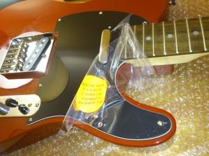 Assembled guitar