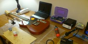 Red Telecaster Clone Guitar