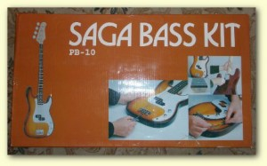 P-Bass clone Saga guitar kit